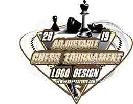 9709f373d Sale CHESS TOURNAMENT ADJUSTABLE VECTOR LOGO DESIGN FOR TSHIRT EPS PDF AI  503
