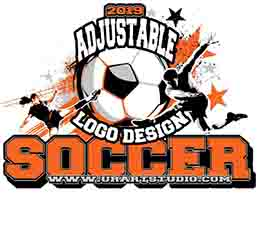 SOCCER ADJUSTABLE VECTOR LOGO DESIGN FOR PRINT AI EPS PDF 1001