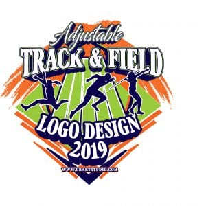 TRACK AND FIELD VECTOR LOGO DESIGN FOR PRINT AI EPS PDF PSD 503