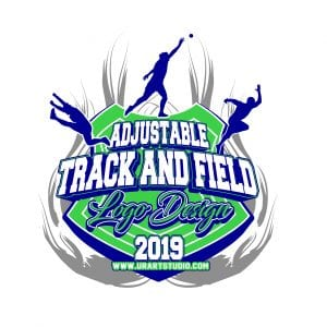 TRACK AND FIELD VECTOR LOGO DESIGN FOR PRINT AI EPS PDF PSD 505