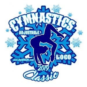 GYMNASTICS ADJUSTABLE LOGO DESIGN 676