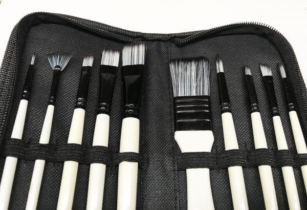 Nylon Brush Set Recommended by Peter Dranitsin