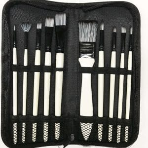 Nylon Brush Set Recommended by Peter Dranitsin