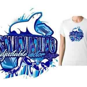 SWIMMING-POLAR-BEAR-VECTOR-LOGO-DESIGN-FOR-PRINT-0020