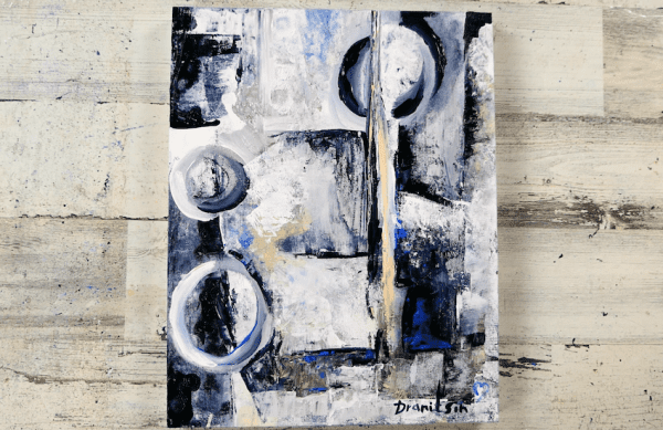 free style abstract painting by Dranitsin, abstract art