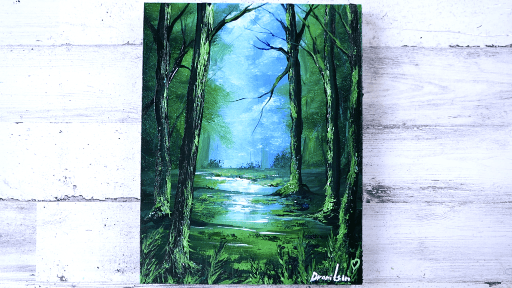Green Forest by Dranitsin