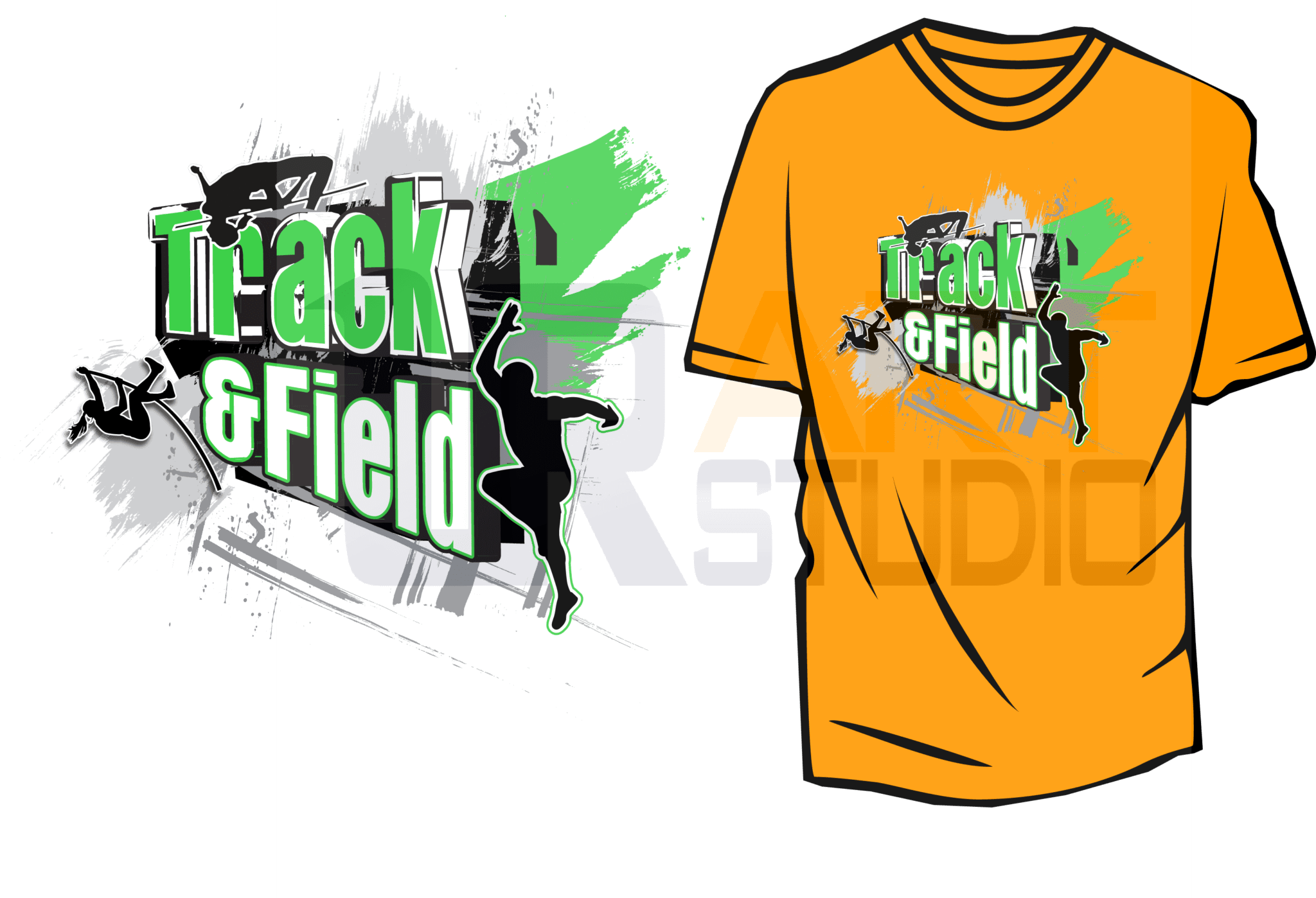 TRACK AND FIELD DESIGN FOR TSHIRT AND APPREL DOWLOAD print