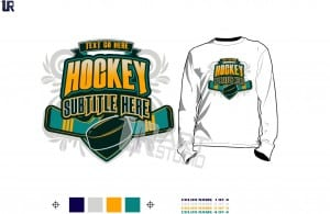 hockey tshirt vector design