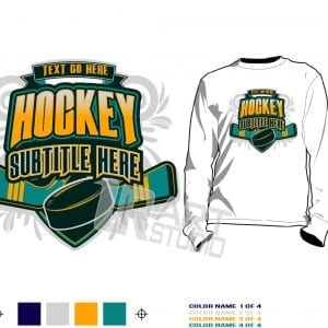 hockey tshirt vector design